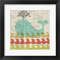 Ada's Whale Framed Print