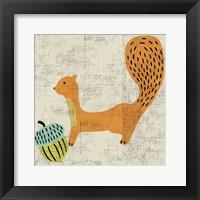 Ada's Squirrel Framed Print
