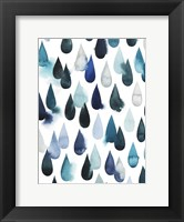 Framed Water Drops I