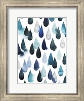 Framed Water Drops I