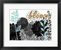 Lacy Garden II Framed Print