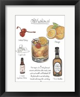 Framed Classic Cocktail - Old Fashioned