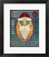 Framed Fisherman VIII Old Salt Whiskey