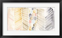 Framed Watercolor Chevron