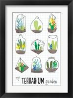 Framed My Terrarium Garden