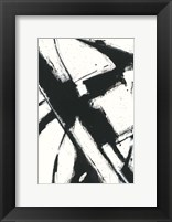 Framed Expression Abstract I White