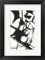 Framed Expression Abstract II White