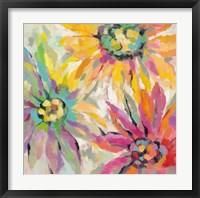 Framed Abstracted Petals I