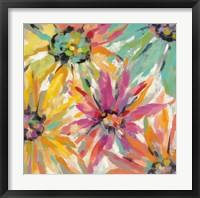 Framed Abstracted Petals II