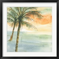 Island Sunset I Framed Print