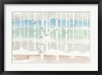 Framed Springlake Aspens Green