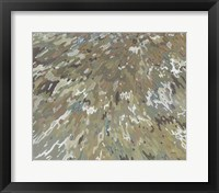 Framed Sable Tide