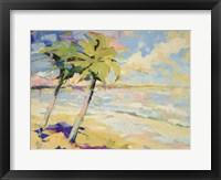 Framed Palms I
