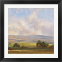 Framed Russell Creek View I