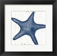 Framed Seaside Starfish