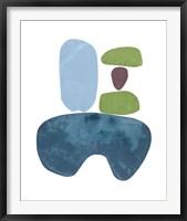 Framed Standing Stone IV