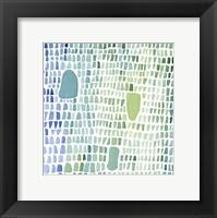 Framed Series Sea Glass No. 1