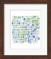 Framed Series Sea Glass No. II