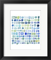 Framed Series Sea Glass No. III
