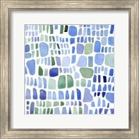 Framed Series Sea Glass No. IV