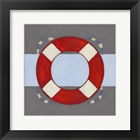 Framed Nautical Graphic II