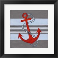 Framed Nautical Graphic III
