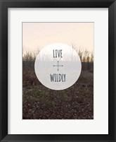 Centered Sentiment I Framed Print