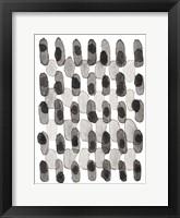 Framed Grey Slate I