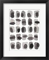 Framed Grey Slate II