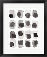 Framed Grey Slate III