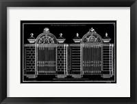 Framed Neufforge Gate Blueprint I
