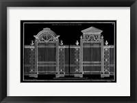 Framed Neufforge Gate Blueprint II