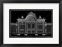 Framed Neufforge Gate Blueprint III