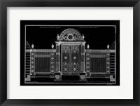 Framed Neufforge Gate Blueprint IV
