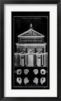 Framed Palace Facade Blueprint I