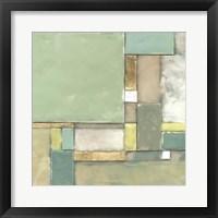Modular Blocks II Framed Print
