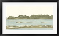Spa Coastline II Framed Print