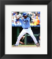Framed Alcides Escobar 2016 Action