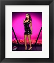 Framed Brie Bella 2016 Total Divas