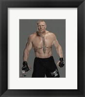 Framed Brock Lesnar 2016 Posed