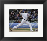 Framed Jake Arrieta 2016 Action