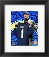Framed Joey Bosa 2016 NFL Draft #3 Draft Pick