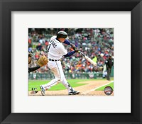 Framed Jose Iglesias 2016 Action