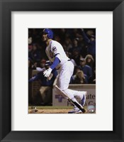 Framed Kris Bryant 2016 Action