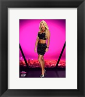 Framed Mandy Rose 2016 Total Divas