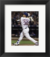 Framed Michael Conforto 2016 Action