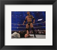 Framed Rock Wrestlemania 32 Action
