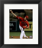 Framed Garrett Richards 2016 Action