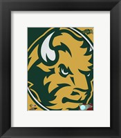 Framed North Dakota State Bison 2016 Logo