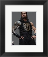 Framed Roman Reigns 2016 Posed